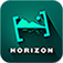 Horizon - Horizontal Full Hd, HD Video Recorder with Real Time Filters, Sharing, Tilt to Zoom